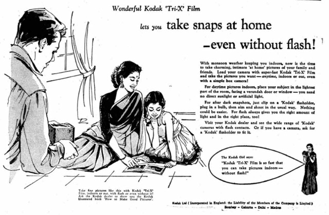 Finding Family in The Times of India's Mid-Century Kodak Ads