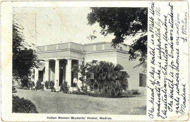 Fig. 19. Indian Women Students' Hostel, Madras, publisher unknown. From the private collection of Dr Stephen P. Hughes.
