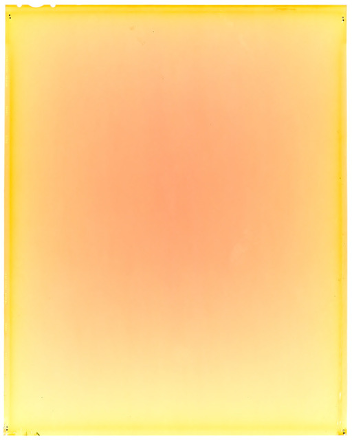 Fig. 8. Yoi Kawakubo, If the radiance of a thousand suns were to burst at once into the sky I, from the If the radiance of a thousand suns were to burst at once into the sky series, 2014, 90 x 150 cm., pigment print of radiation-exposed positive photographic film, scanned, © Yoi Kawakubo, courtesy of the artist.