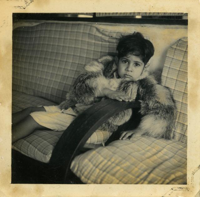 Fig. 14. Haleema Hashim, Rafeeq Ismail, 1950s, 6.35 x 6.35 cm., courtesy of Nihaal Faizal.