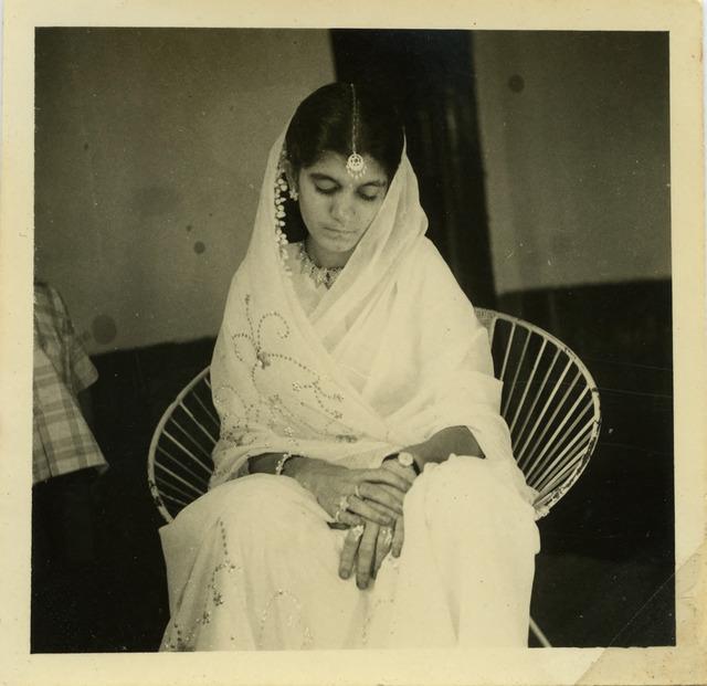 Fig. 45. Haleema Hashim, Saira Suleiman, 1960, 6.35 x 6.35 cm., courtesy of Nihaal Faizal.