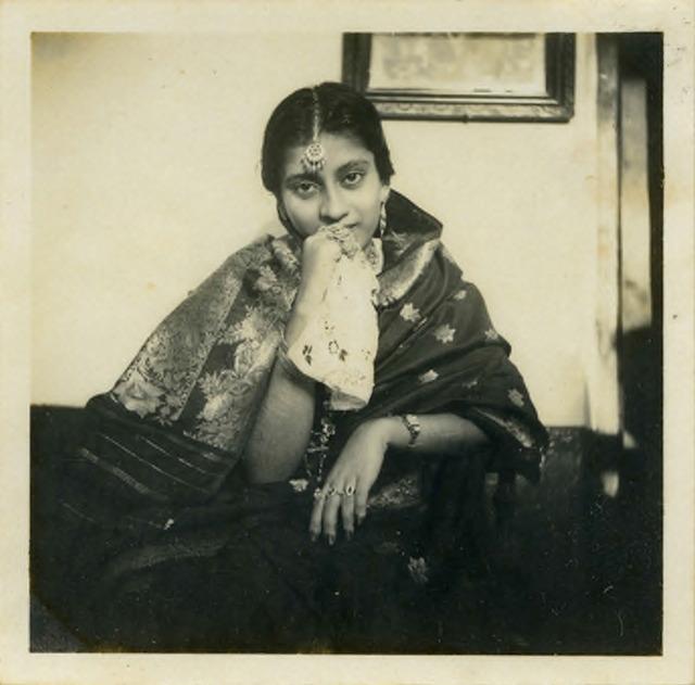 Fig. 50. Haleema Hashim, Mariam Suleiman, 1957, 6.35 x 6.35 cm., courtesy of Nihaal Faizal.