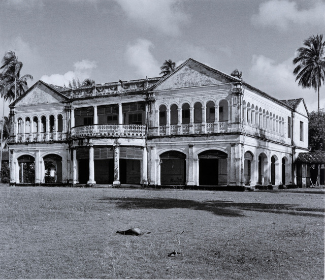 Fig. 8. Photographed in 1956, 'Joshua': a mansion near Amber Road and Tanjong Katong Road, had a faded grandeur. Marjorie Doggett, © National Archives of Singapore.
