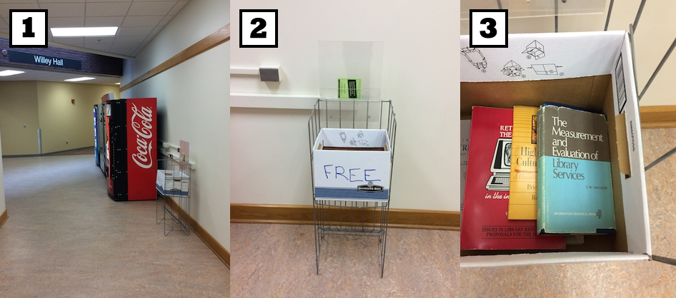 Figure 1. Library UX find.
