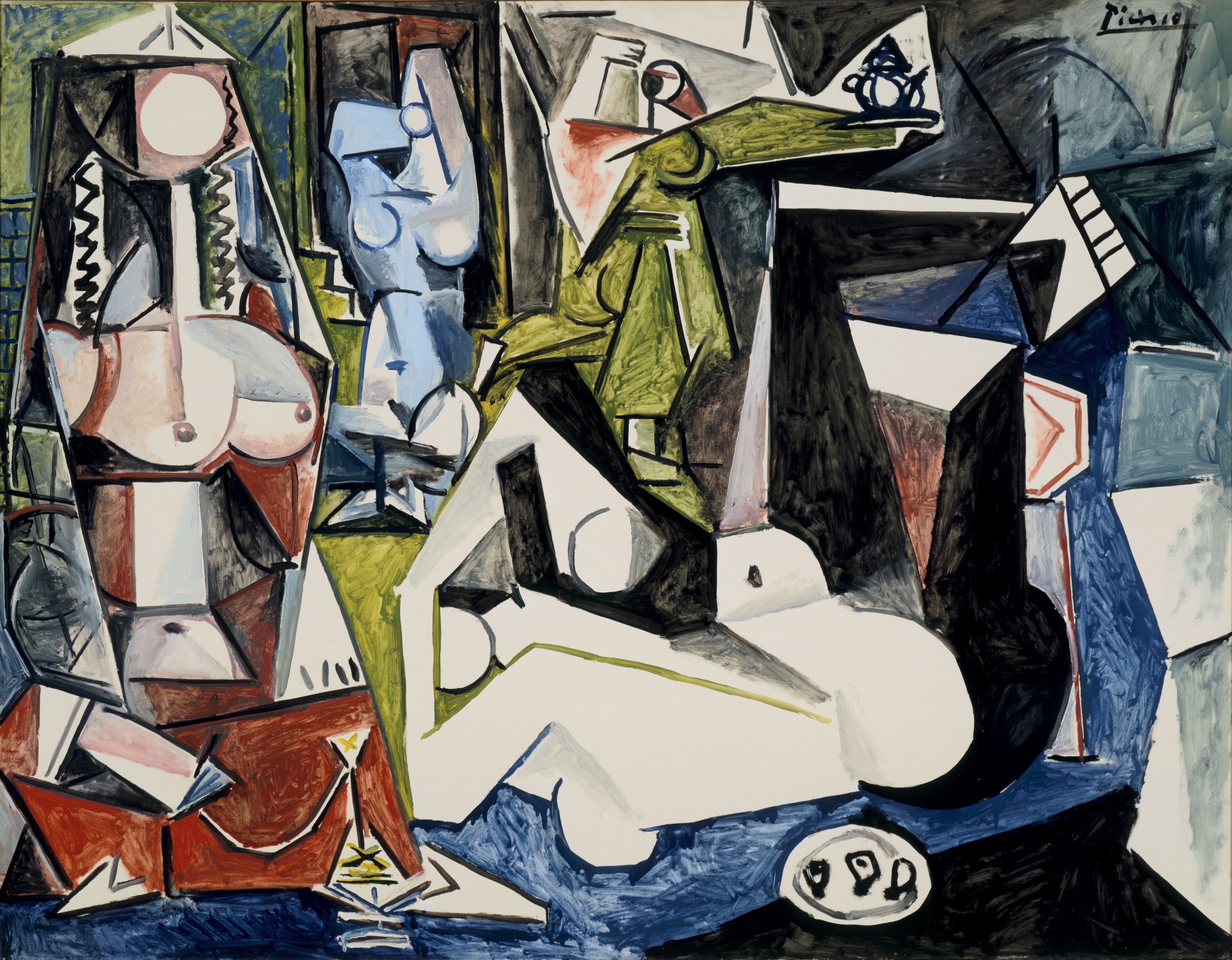 Picasso S Les Femmes D Alger Series 1954 55 And The